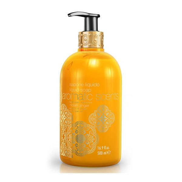 Aromatic Scents Liquid Soap With Argan Oil Indian Ginger 500ml