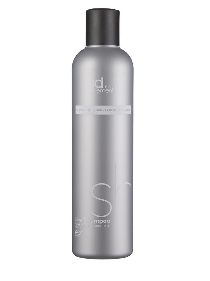 Id Hair Silver Shampoo For Blonde Hair 250ml