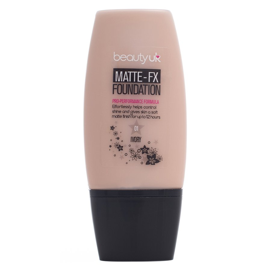 Beauty UK Matte-Fx Foundation Natural Nr. 1 Ivory