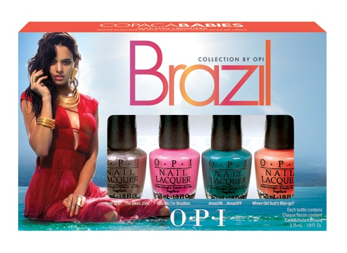 OPI Brazil Collection Mini Pack Copacababies 4 x 3,75ml