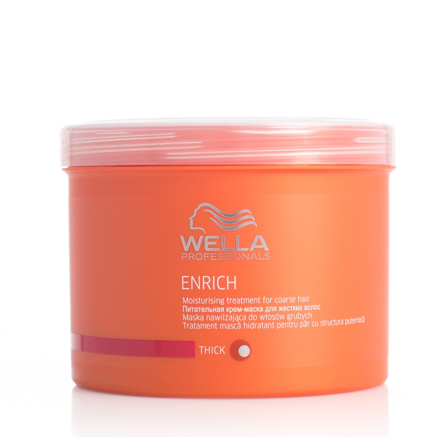 Wella Professionals Enrich Moisturizing Treatment Tykt/Grovt Hår 500 ml