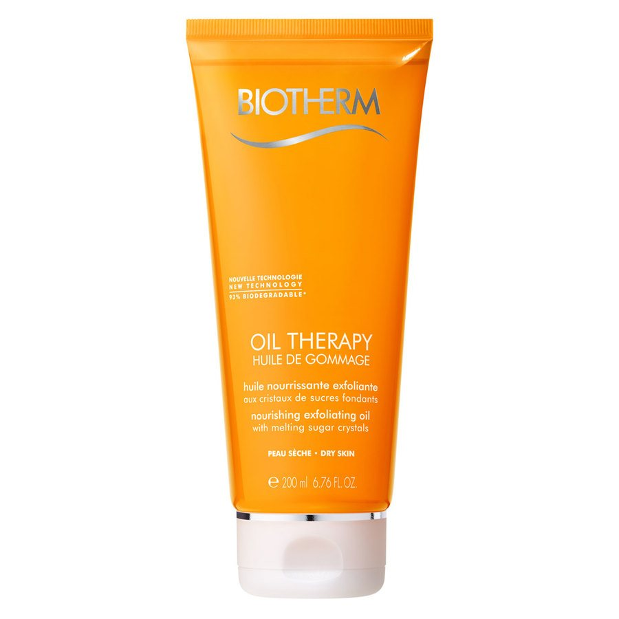 Biotherm Oil Therapy Huile De Gommage Exfoliator Dry Skin 200ml