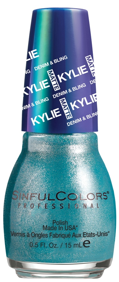 Kylie Jenner Sinful Colors Neglelakk Kustom Fit #2104 15ml