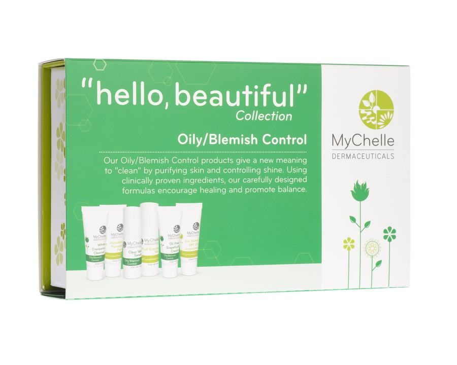 MyChelle ''Hello Beautiful'' Collection Oily/Blemish Control 6 Deler
