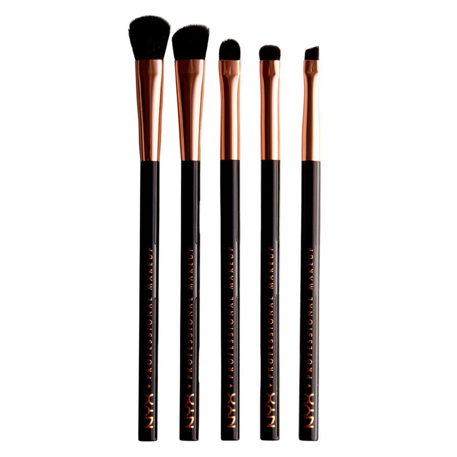 NYX Professional Makeup In Your Element Metallics Eye Brush Set