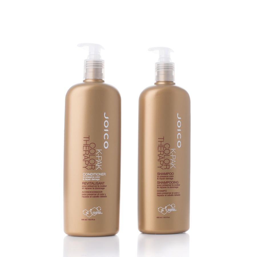 Joico K-Pak Color Therapy Shampoo Og Balsam 2x500ml (Duo)