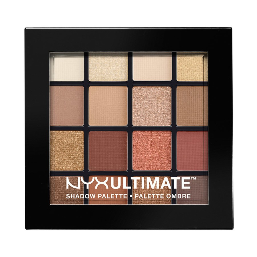 NYX Ultimate Eyeshadow Palette Warm Neutrals USP03