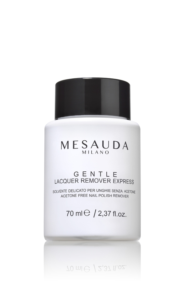 Mesauda Milano Gentle Lacquer Remover Express Acetone Free 70ml