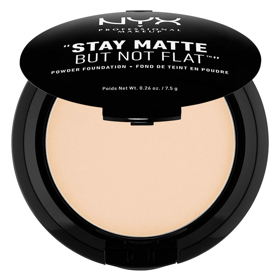 NYX Professional Makeup Stay Matte But 0Not Flat Powder Foundation Ivory SMP01