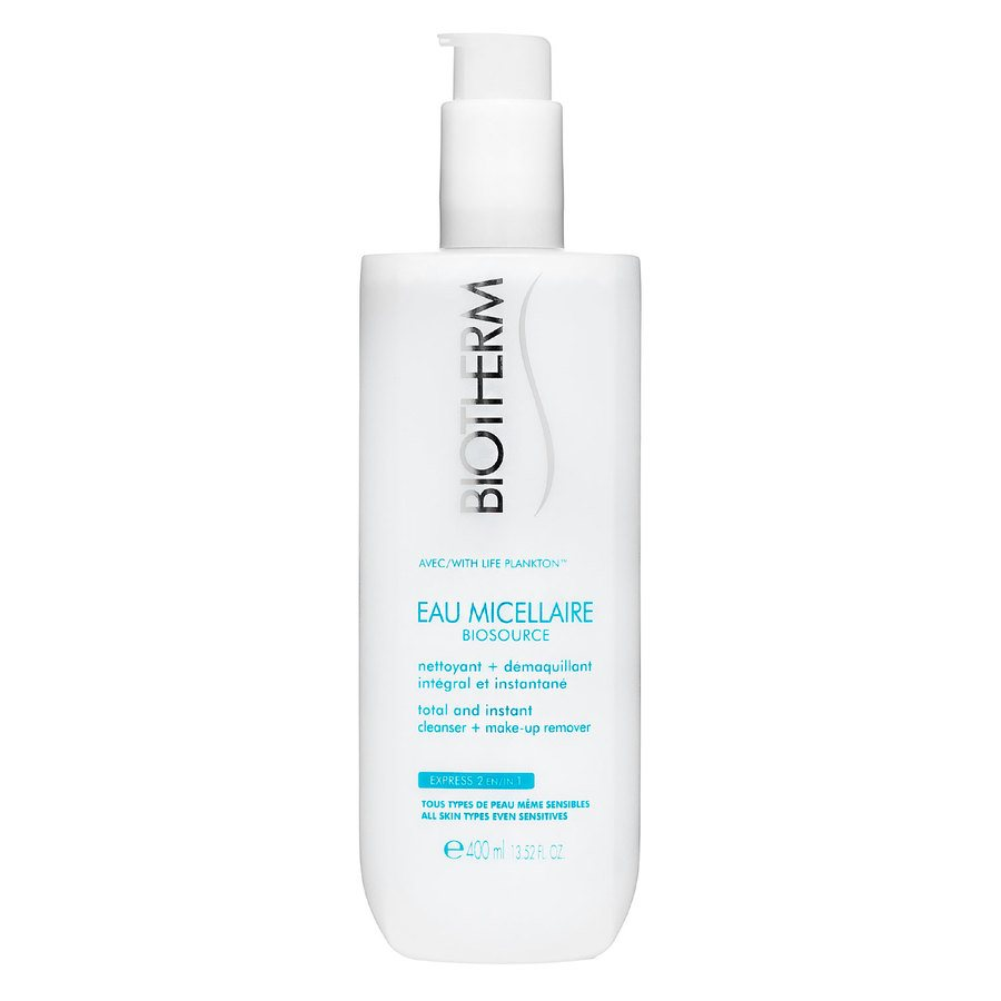Biotherm Biosource Eau Micellaire Cleanser + Make-Up Remover 400ml