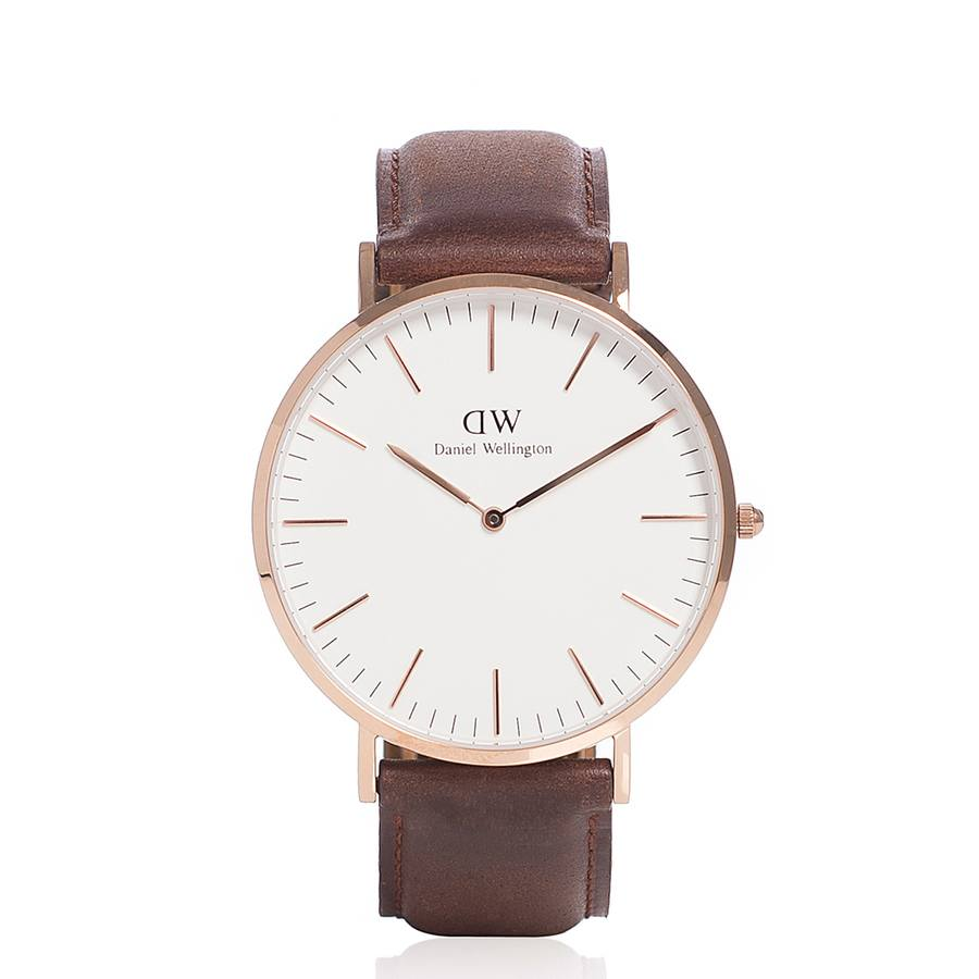 Daniel Wellington Classic St. Mawes Rose Gold 40mm 0106DW