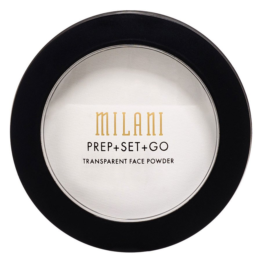 Milani Prep+Set+Go Transparent Face Powder (Vegansk)  1,2g