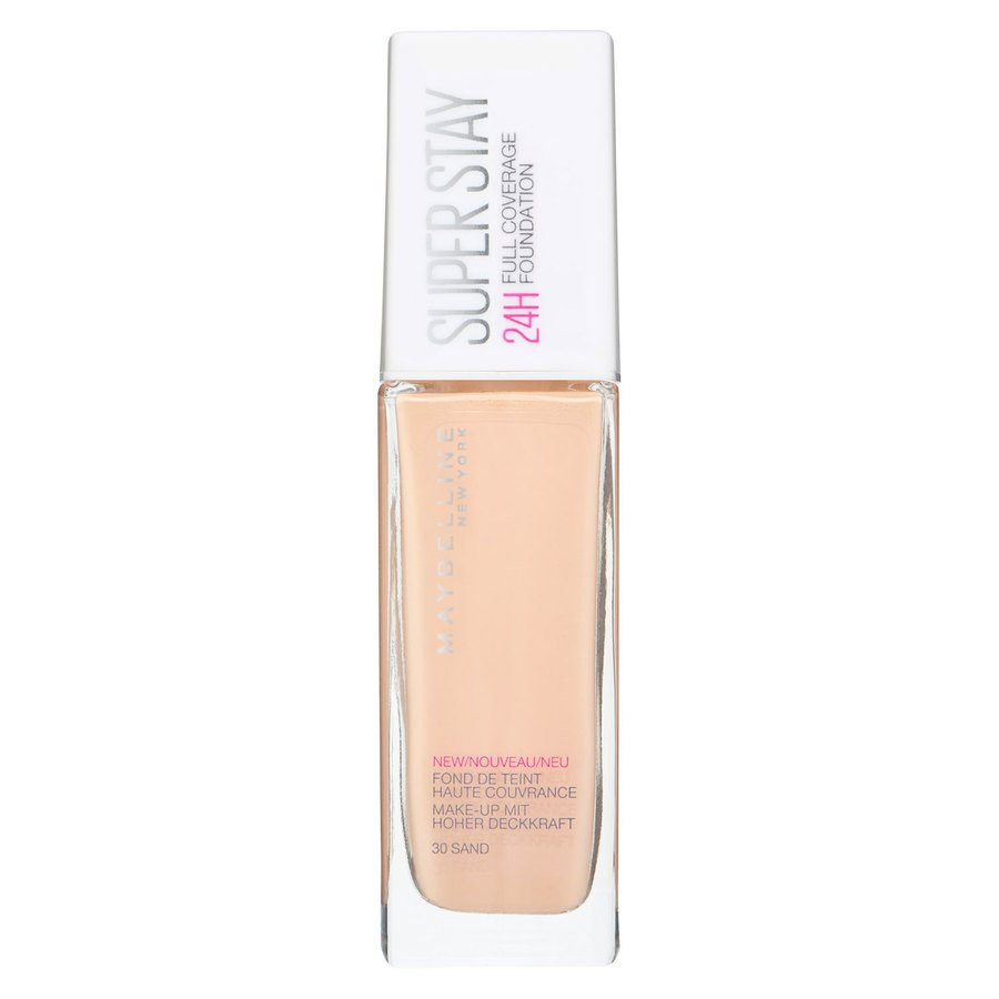 Maybelline Super Stay 24H Full Coverage Foundation 30 Sand 30ml