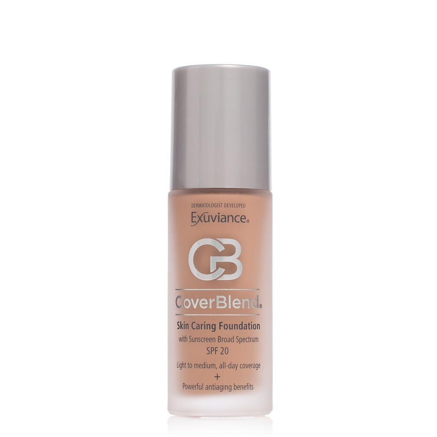 Exuviance CoverBlend Skin Caring Foundation SPF 20 Honey Sand 30ml