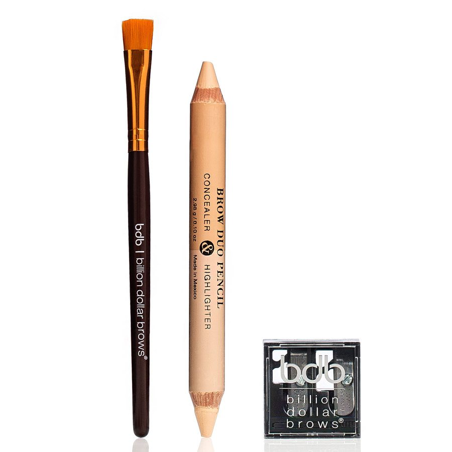 Billion Dollar Brows 60 Second To Beautiful Brows Set 3pcs