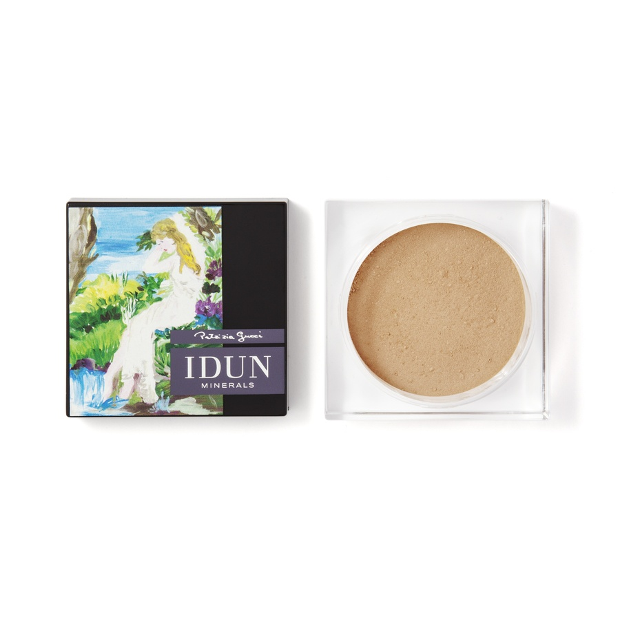 Idun Minerals Foundation Svea Warm Medium 9g