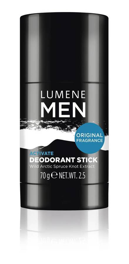 Lumene Men Activate Deodorant Stick 70g