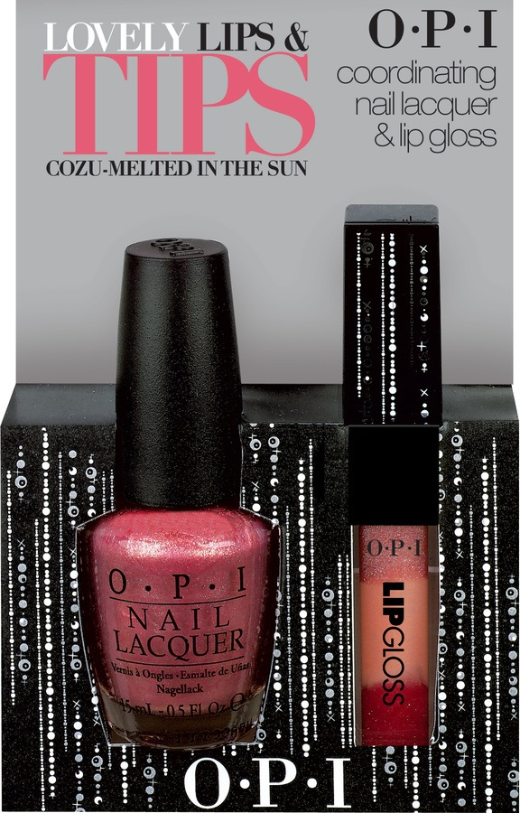 OPI Lovely Lips & Tips (Cozu-Melted In The Sun)