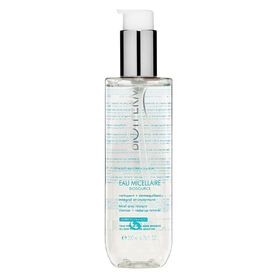 Biotherm Biosource Eau Micellaire Cleanser + Make-Up Remover 200ml