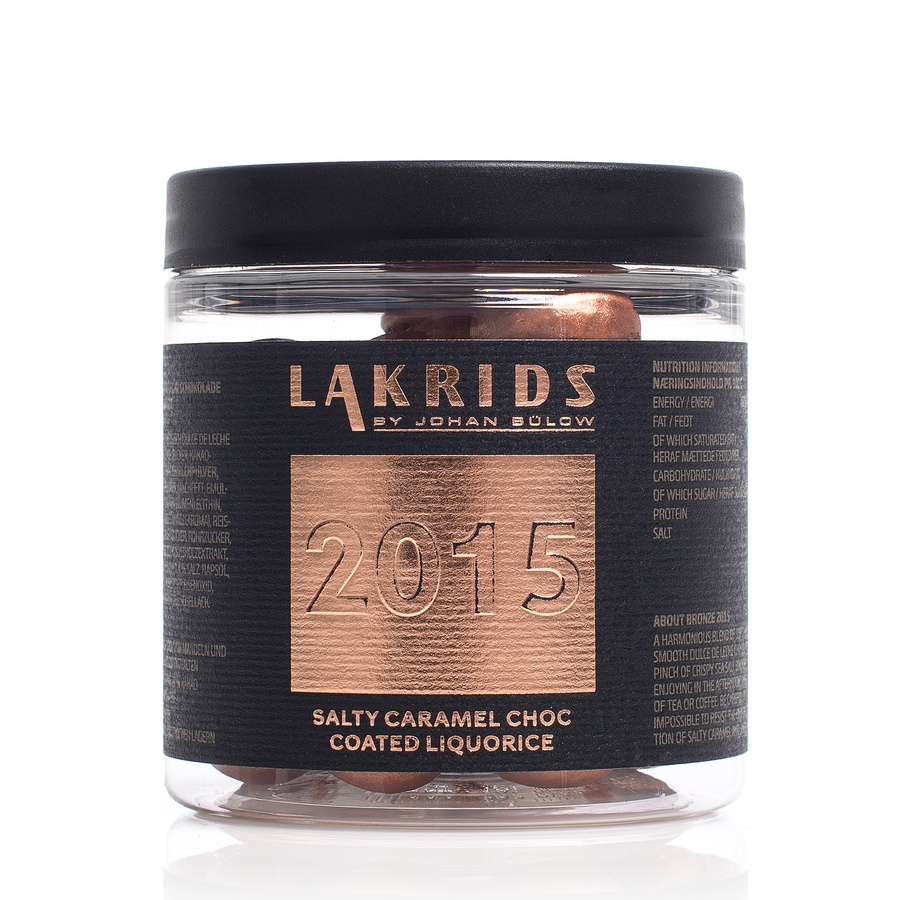 Lakrids By Johan Bülow Christmas 2015 Salty Caramel Choc Coated Liquorice 150g