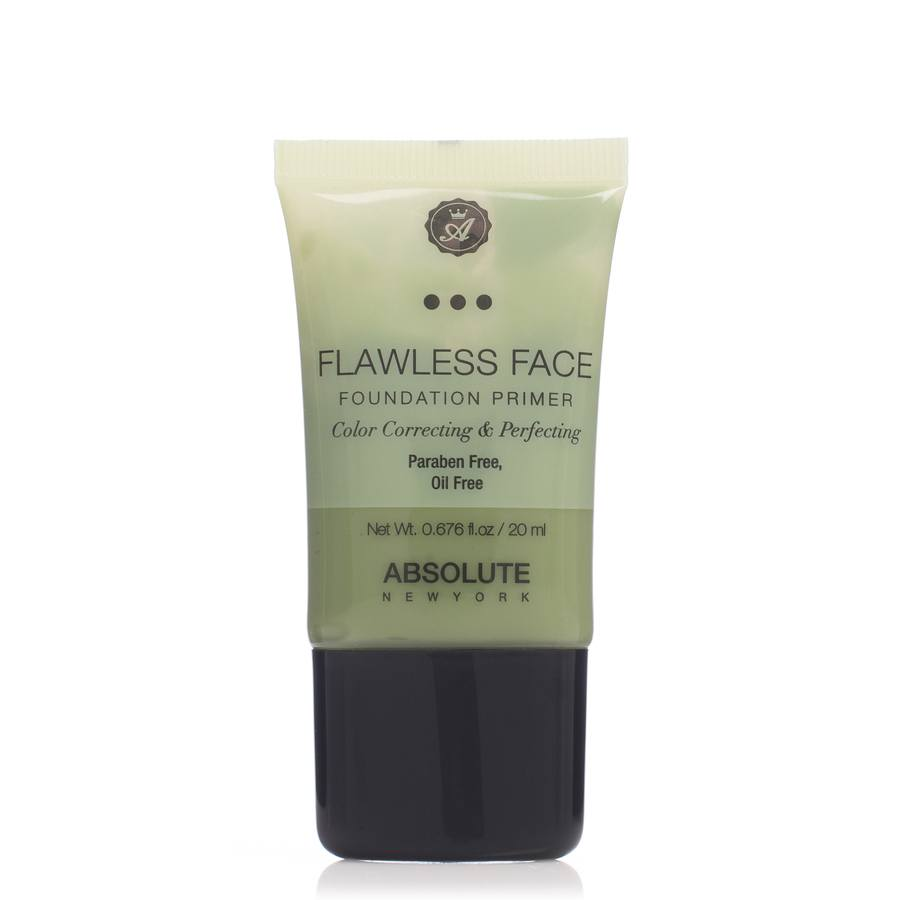 Absolute New York Flawless Face Foundation Primer Green NF081