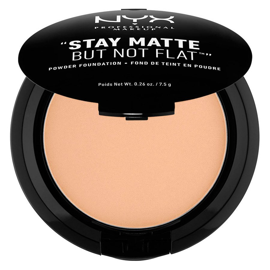 NYX Prof. Makeup Stay Matte But Not Flat Powder Foundation Warm Beige SMP07