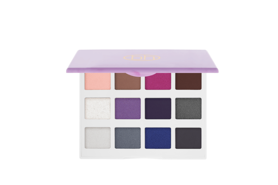 bh Cosmetics Marble Collection Cool Stone 12 Color Eyeshadow Palette