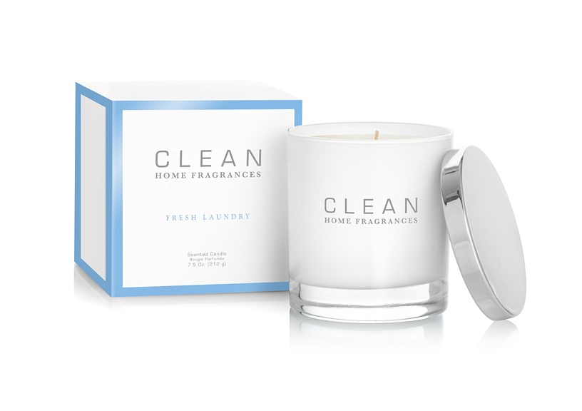 CLEAN Home Collection Fresh Laundry Candle 212g