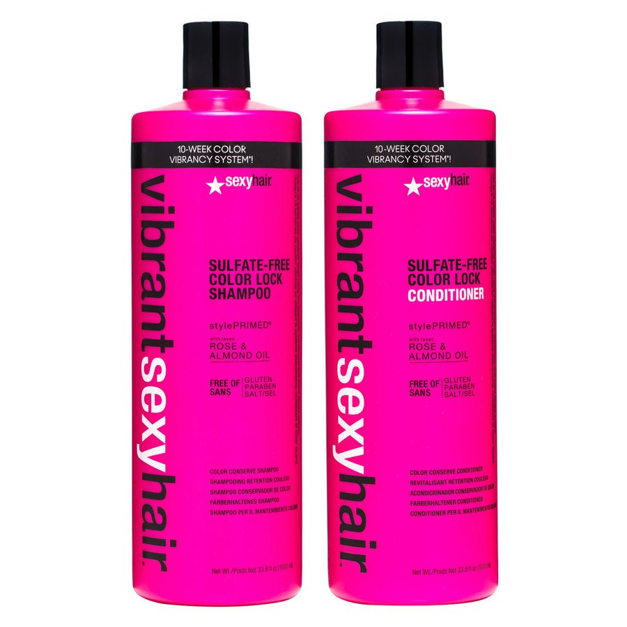 Vibrant Sexy Hair Color Lock Shampoo & Conditioner 2 x 1000ml
