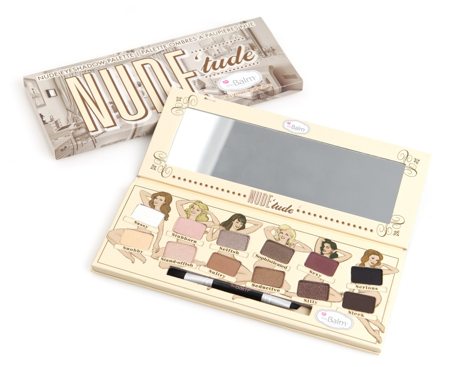 The Balm Nude'Tude Eyeshadow Palette 12 Farger