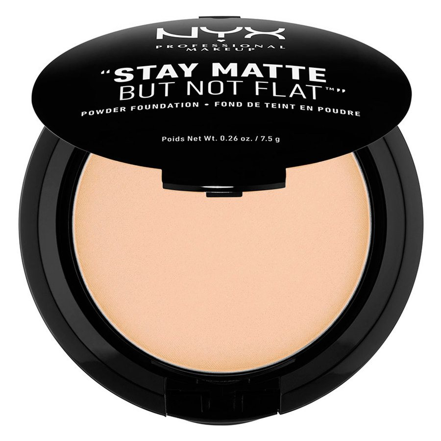 NYX Prof. Makeup Stay Matte But Not Flat Powder Foundation  Natural SMP03
