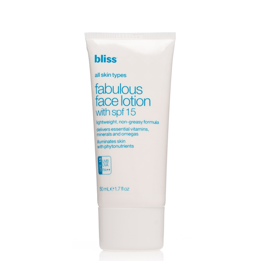 Bliss Fabulous Everyday Face Lotion Spf15 50ml