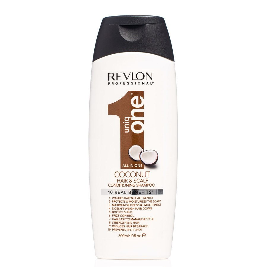 Revlon Professional Uniq One Hair & Scalp Conditioning Shampoo Coconut 300ml