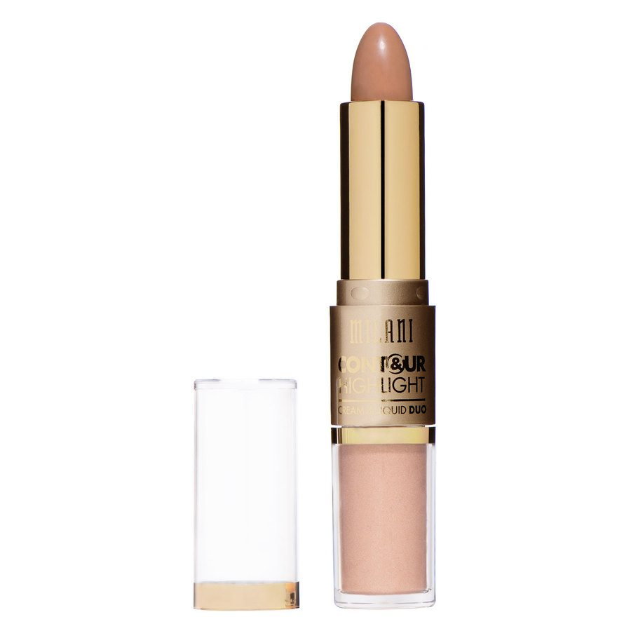 Milani Contour And Highlight Cream And Liquid Duo Natural/Medium
