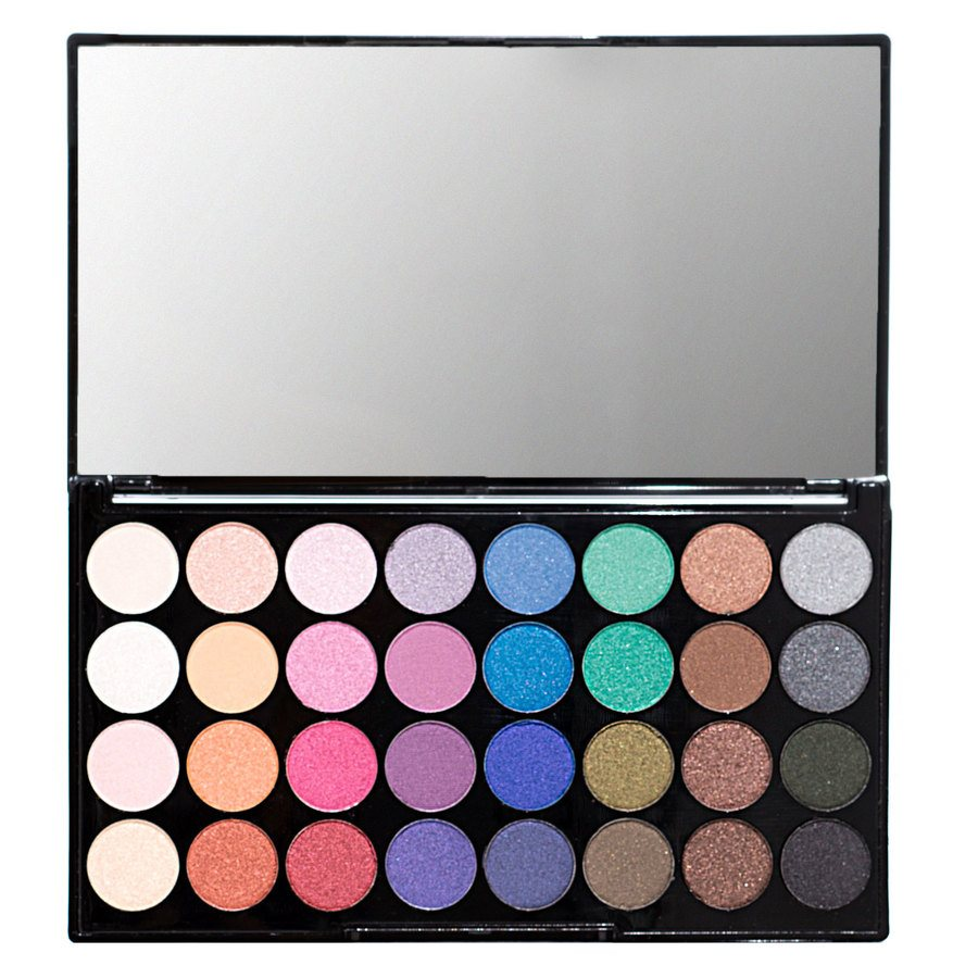 Makeup Revolution Ultra 32 Eyeshadow Palette Mermaids Forever