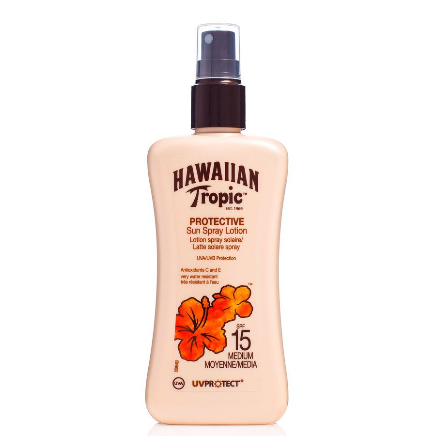 Hawaiian Tropic Satin Protection Spray Lotion SF15 200 ml
