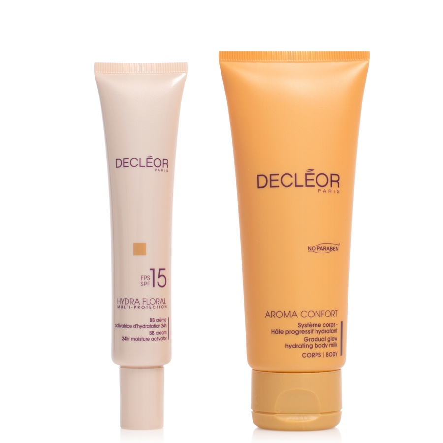 Decléor Healthy Glow Face & Body Kit 2 Deler