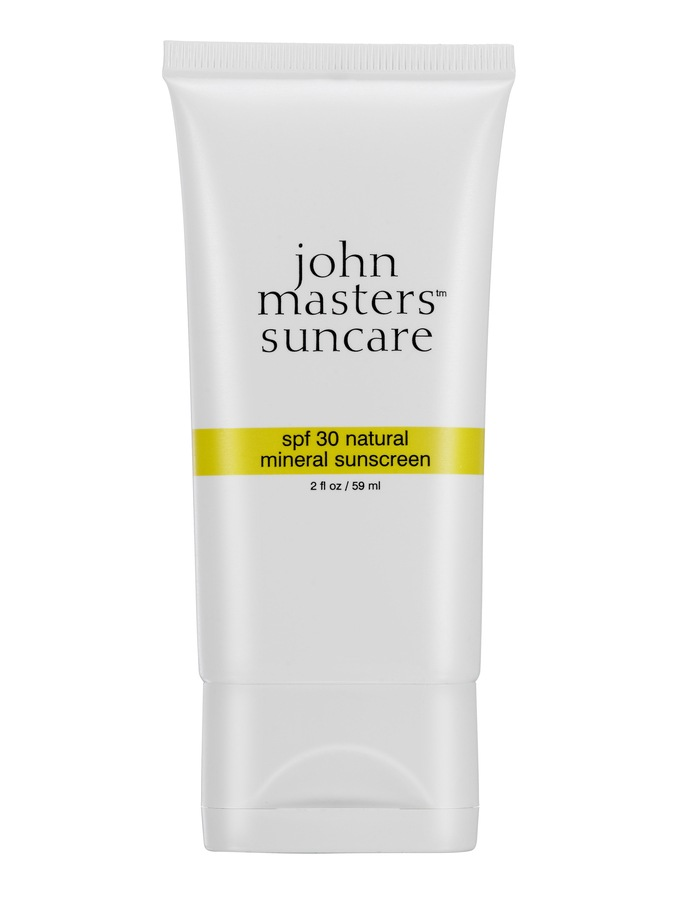 John Masters Organics Natural Mineral Sunscreen SPF 30 59ml