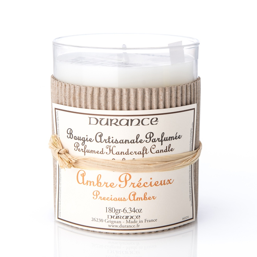 Durance Perfumed Handcraft Candle Precious Amber