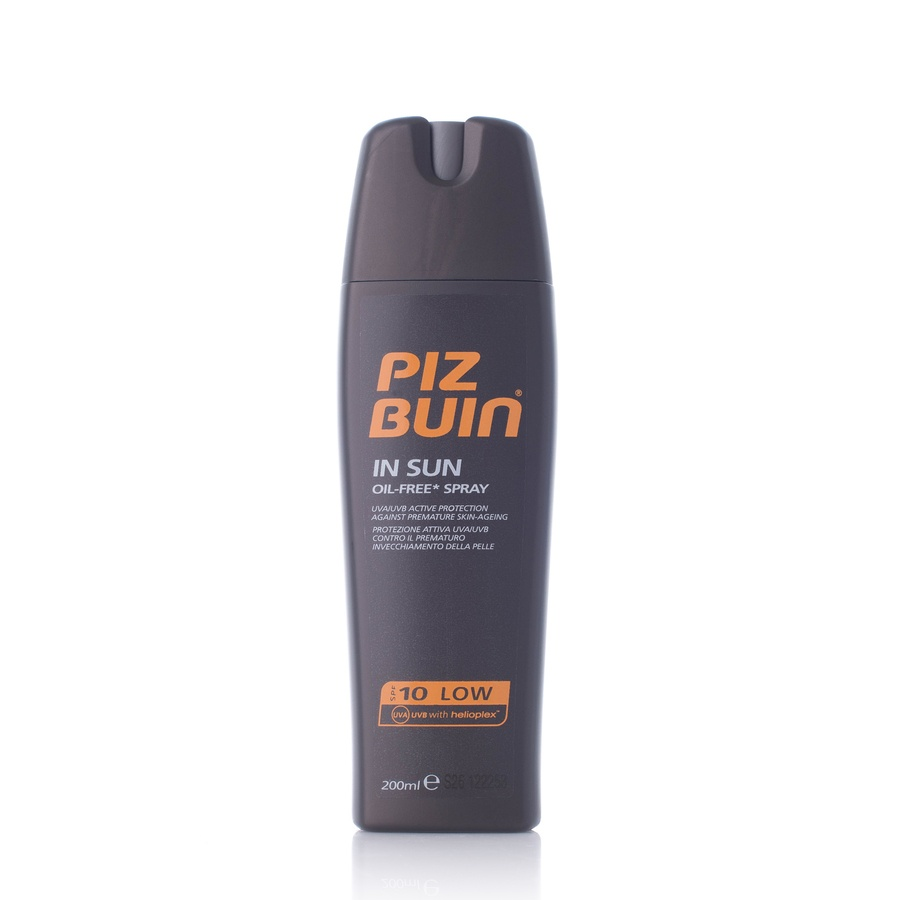 Piz Buin In Sun Oil Free Sun Spray SPF10 200ml