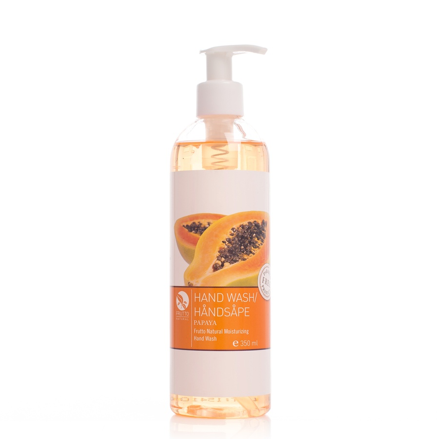 Frutto Natural Hand Wash Moisturizing Papaya 350ml