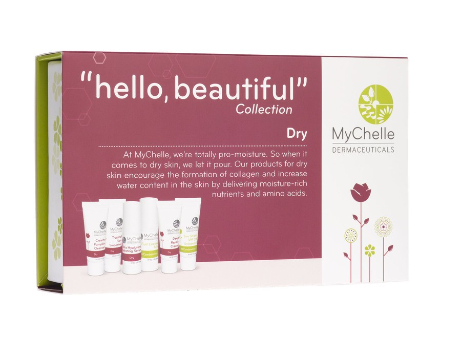 MyChelle ''Hello Beautiful'' Collection  Dry 6 Deler