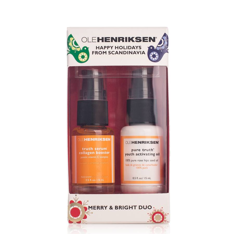 Ole Henriksen Merry & Bright /Radiance Duo