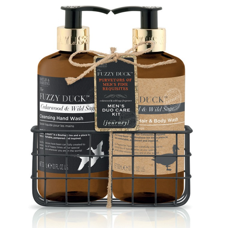 Baylis & Harding Fuzzy Duck Men's Hand wash 300ml And Hair & body wash 300ml