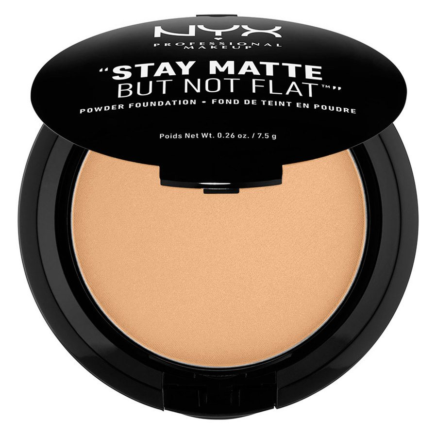 NYX Prof. Makeup Stay Matte But Not Flat Powder Foundation Tan SMP09