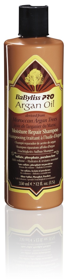 BaByliss Argan Oil Moisture Repair Shampoo 350ml