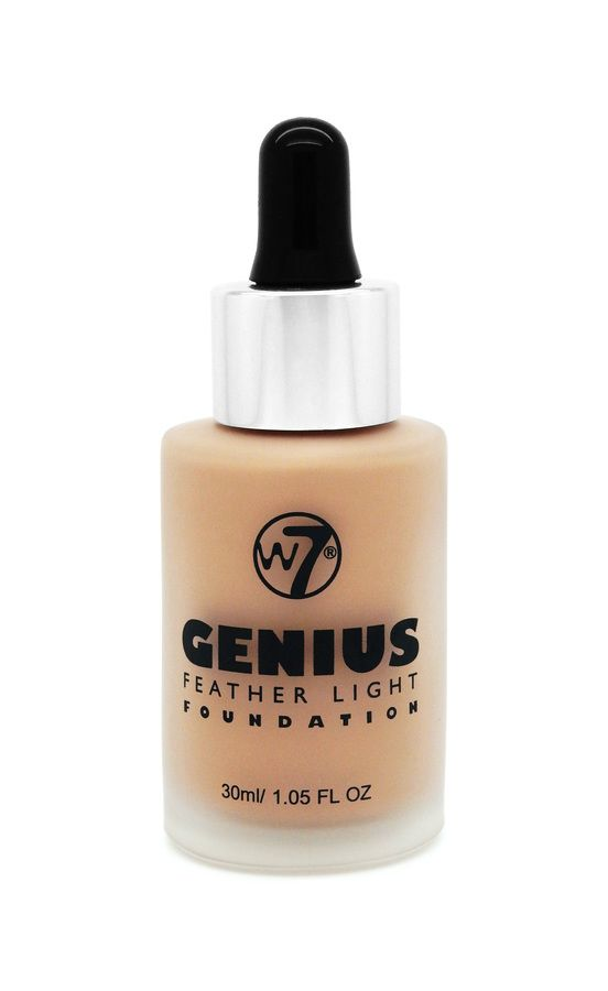 W7 Genius Feather Light Foundation Natural Beige