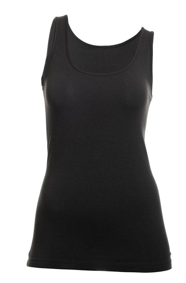 Tufte Singlet For Henne Sort Str XL