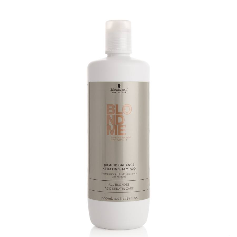 Schwarzkopf Blondme All Blondes Balance Keratin Shampoo 1000ml