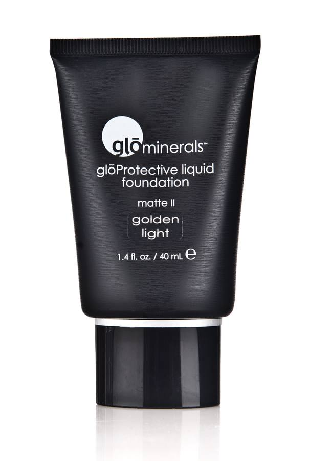 glóMinerals Protective Liquid Foundation-Matte II Golden Light 40ml